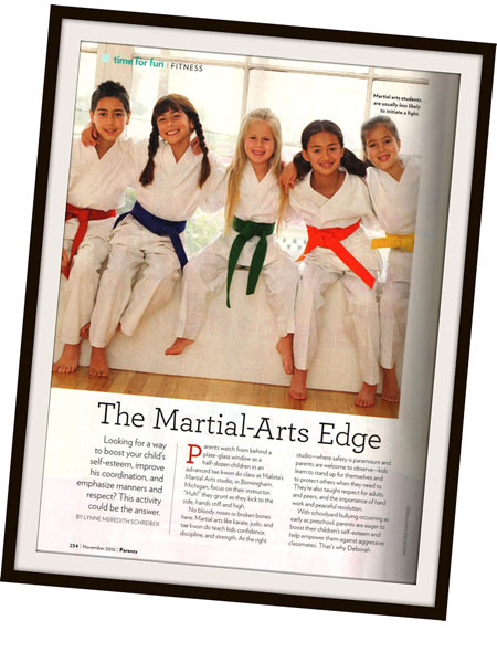 Parents Magazine Discusses The Martial Arts Edge